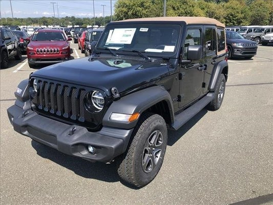 Black Jeep Wrangler Unlimited >> 2020 Jeep Wrangler Unlimited Black And Tan 4x4